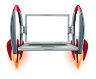 High Speed Internet stock illustration