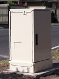 High speed Internet fiber distribution cabinet Royalty Free Stock Photography