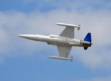 High speed jetfighter royalty free stock photography