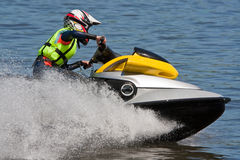 High-speed jetski Stock Photos