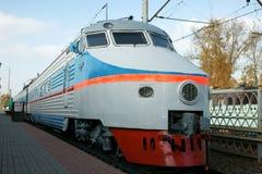 The high-speed locomotive Stock Photo