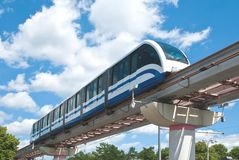 High Speed Monorail Train Royalty Free Stock Photography