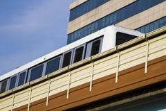 High Speed Monorail Train, taipei, taiwan Royalty Free Stock Image
