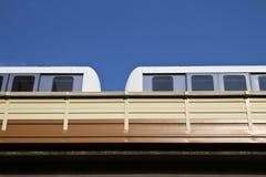 High Speed Monorail Train, taipei, taiwan Royalty Free Stock Photo