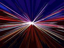 High speed motion in highway concept background. Vector illustration Royalty Free Stock Images