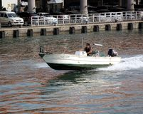 High Speed Motor Boat Royalty Free Stock Photo