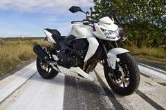 High speed motorcycle Stock Photos