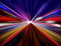 High speed movement concept background. Vector illustration Royalty Free Stock Images