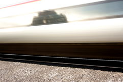 High speed passenger train abstract Stock Photography