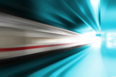 High speed passenger train Royalty Free Stock Photos