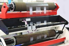 Printing industry equipment Stock Images