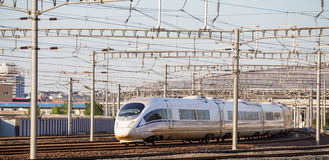 High speed rail Stock Photography