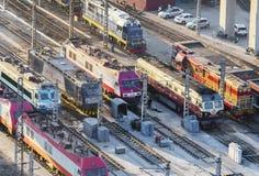 High speed rail Stock Photos