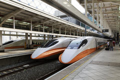 High Speed Rail Station In Taiwan Royalty Free Stock Image