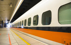 High Speed Rail Station platform Stock Photos
