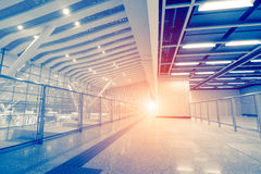 High Speed ​​Rail Station Stock Image