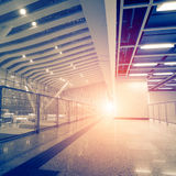High Speed ​​Rail Station Stock Photo