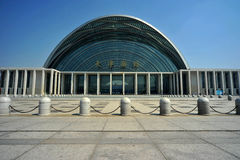 High-speed rail Tianjin West Railway Station Royalty Free Stock Photo