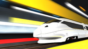 High speed rail, transit, transportation, system, train. stock video footage