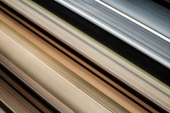 High speed railway Royalty Free Stock Photography