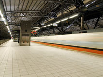 High speed railway station Stock Images
