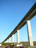 High Speed railway Viaduct Royalty Free Stock Image