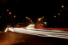 High speed road Royalty Free Stock Photos