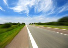 High speed road Stock Photo