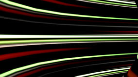 High speed technological light strokes tunnel, stock footage Royalty Free Stock Images