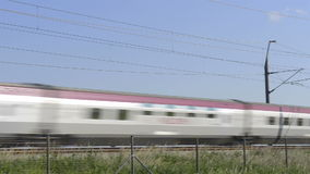 High Speed Thalys Train stock footage