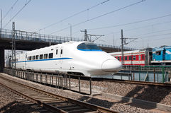 High-Speed Train Stock Images