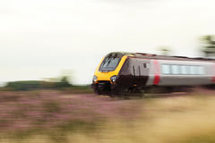 High speed train. A high speed train, motion blur Stock Photography