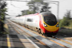 High Speed Train. In England Royalty Free Stock Photos