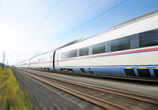 High-speed  train. Stock Photos