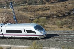 High-speed train Stock Image