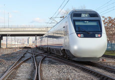 High-speed train Royalty Free Stock Images