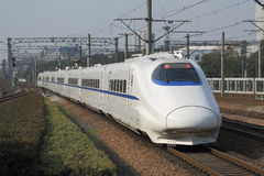 High speed train. China's new high-speed train stock images