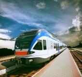 High-speed train Royalty Free Stock Photos