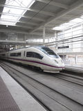High speed train in Atocha Station Royalty Free Stock Photos