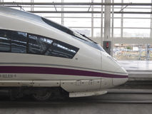 Detail of High speed train Royalty Free Stock Photo