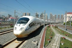 High speed train of China. 