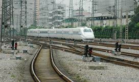 High speed train of China Royalty Free Stock Image