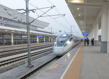 High speed train. China High speed train.sichuan.chengdu Royalty Free Stock Images