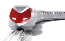 High speed train concept Stock Images
