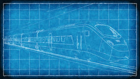 High speed train concept Royalty Free Stock Photography