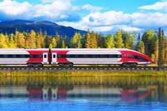 High speed train Royalty Free Stock Image