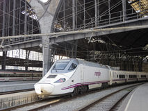 High speed train in Barcelona Stock Photos