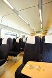 High speed train interior. From guangzhou to shenzhen in china Stock Photo