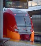 High speed train Lastochka Stock Images