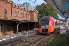 High-speed train Lastochka Royalty Free Stock Image